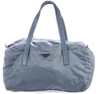 Prada Saffiano-Trimmed Vela Shoulder Bag