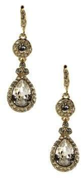 Givenchy 10Kt. Gold Plated and Swarovski Crystal Teardrop Earrings