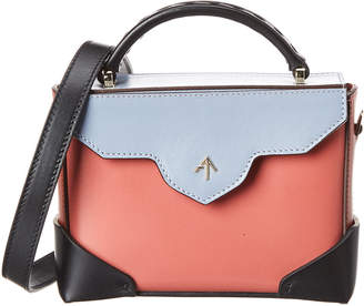 Atelier Manu Micro Bold Chain Leather Shoulder Bag