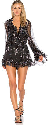 Zimmermann Paradiso Floating Romper in Black $695 thestylecure.com