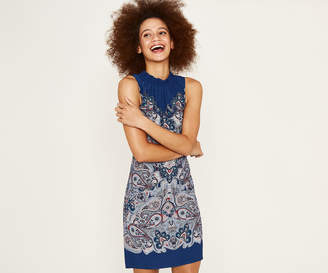 Oasis PAISLEY SHIFT DRESS
