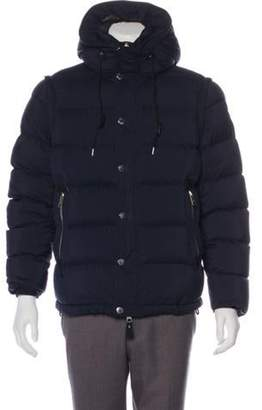 Burberry Convertible Quilted Puffer Jacket black Convertible Quilted Puffer Jacket