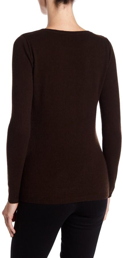 In Cashmere Cashmere Open-Stitch Pullover Sweater 15
