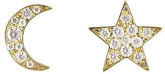 Finn Women's Star & Moon Stud Earring Set