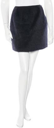 Mulberry Alpaca Mini Skirt $195 thestylecure.com