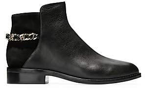 Cole Haan Women's Idina Chain Leather Ankle Boots