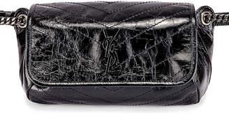 Saint Laurent Niki Monogramme Body Bag in Black | FWRD