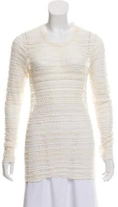 Isabel Marant Open Knit Long Sleeve Top Open Knit Long Sleeve Top