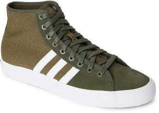 adidas Olive Matchcourt RX High-Top Sneakers