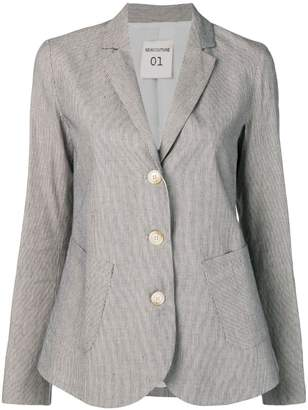 Semi-Couture Semicouture striped suit jacket