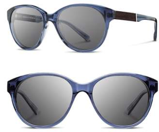 Shwood 'Madison' 54mm Round Sunglasses
