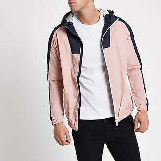 River Island Jack and Jones pink Originals jacket