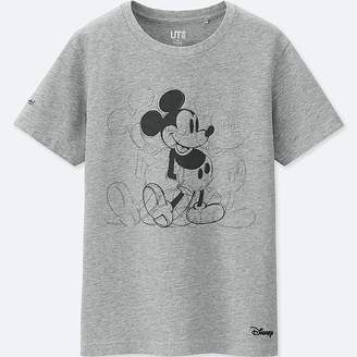 Uniqlo Kid's Mickey Art Short-sleeve Graphic T-Shirt (andy Warhol)