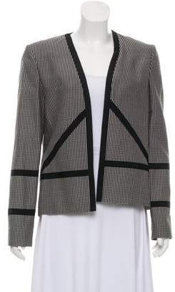 Sass & Bide Structured Open Front Blazer