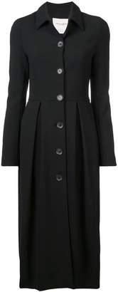 Carolina Herrera buttoned up frock coat