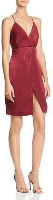 Style Stalker Stylestalker Ava Faux-Wrap Slip Dress