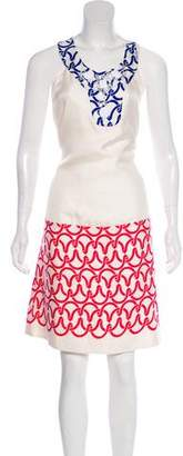 Cynthia Steffe Cynthia Silk Midi Dress