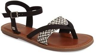 Women's Toms 'Lexie' Sandal $58.95 thestylecure.com