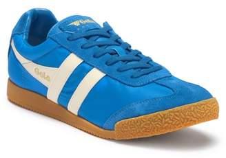 Gola Harrier Nylon & Suede Sneaker