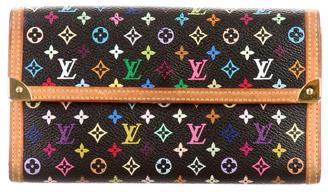 Louis VuittonLouis Vuitton Multicolore Porte Tresor International Wallet