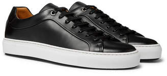 HUGO BOSS Mirage Leather Sneakers - Black