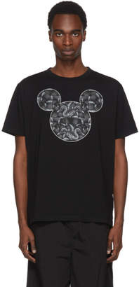 Marcelo Burlon County of Milan Black Disney Edition Mickey Mouse Snake T-Shirt