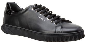 Salvatore Ferragamo Clyde Leather Sneaker