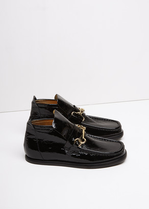 Acne Studios Kerin Loafer Boot $800 thestylecure.com