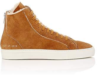 Common Projects Women's Tournament Shearling Sneakers