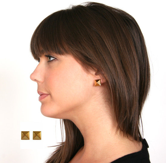 Wendy Nichol Small Pyramid Stud Earring