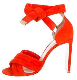 Nicholas Kirkwood Ziggy Suede Sandals