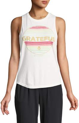 Spiritual Gangster Grateful Graphic Muscle Tank