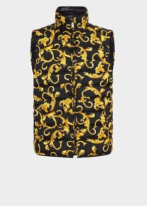 Versace Reversible Acid Baroque Vest