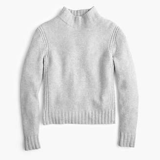 J.Crew Mockneck sweater in supersoft yarn