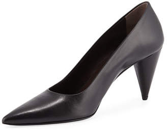 The Row Pointed Cone-Heel Pump