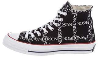 J.W.Anderson Converse Logo High-Top Sneakers w/ Tags