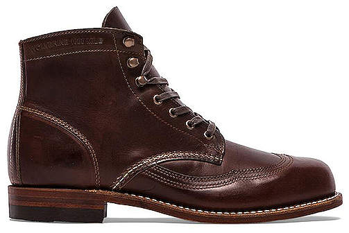 Wolverine 1000 Mile Addison Wingtip Boot