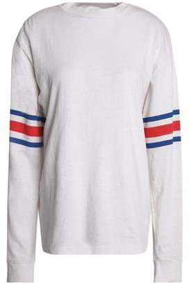 Re/Done By Levi's Printed Slub Cotton-Jersey Top