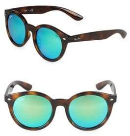 Ray-Ban 55MM Round Sunglasses