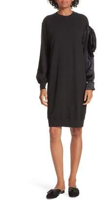 Clu Asymmetric Sweatshirt Dress