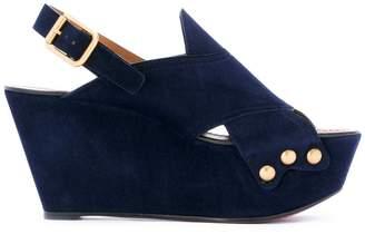 Chloé 'Mischa' wedge sandals