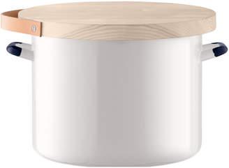 LSA International Bread Bin & Ash Board - Milk White