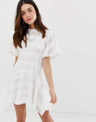 Keepsake unbroken mini dress