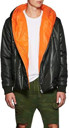 NSF Men's Tech-Taffeta Hooded Puffer Jacket