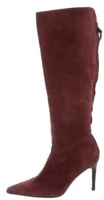 Bottega Veneta Suede Knee-High Boots