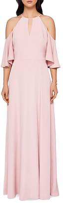 Ted Baker Dulciee Cold-Shoulder Gown