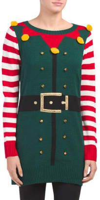 Elf Suit Sweater Tunic