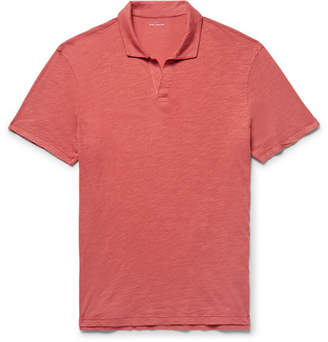 Club Monaco Slim-Fit Slub Cotton-Jersey Polo Shirt