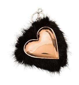 Stella McCartney Heart Key Ring
