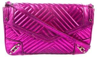 Rebecca Minkoff Metallic Quilted Leather Bag